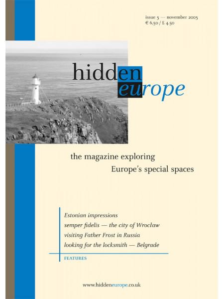 hidden europe no. 5 (Nov / Dec 2005)